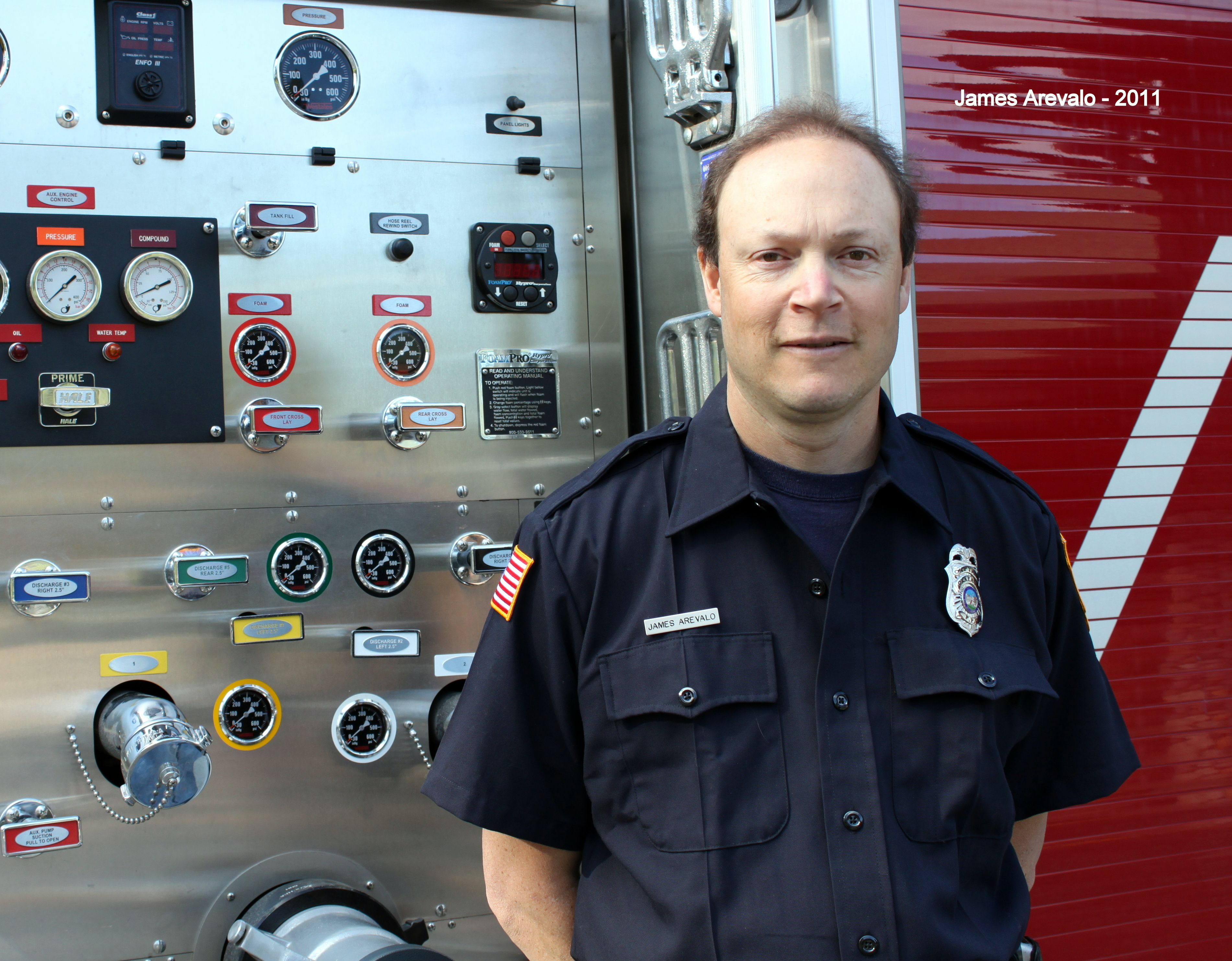 2011 Firefighter of the year